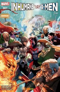 INHUMANS VS X-MEN 1