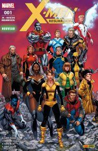X-MEN RESURRXION 1