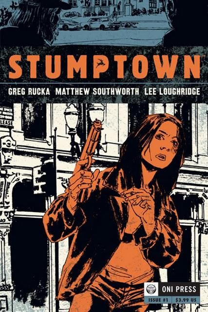 Greg Rucka Stumptown #1