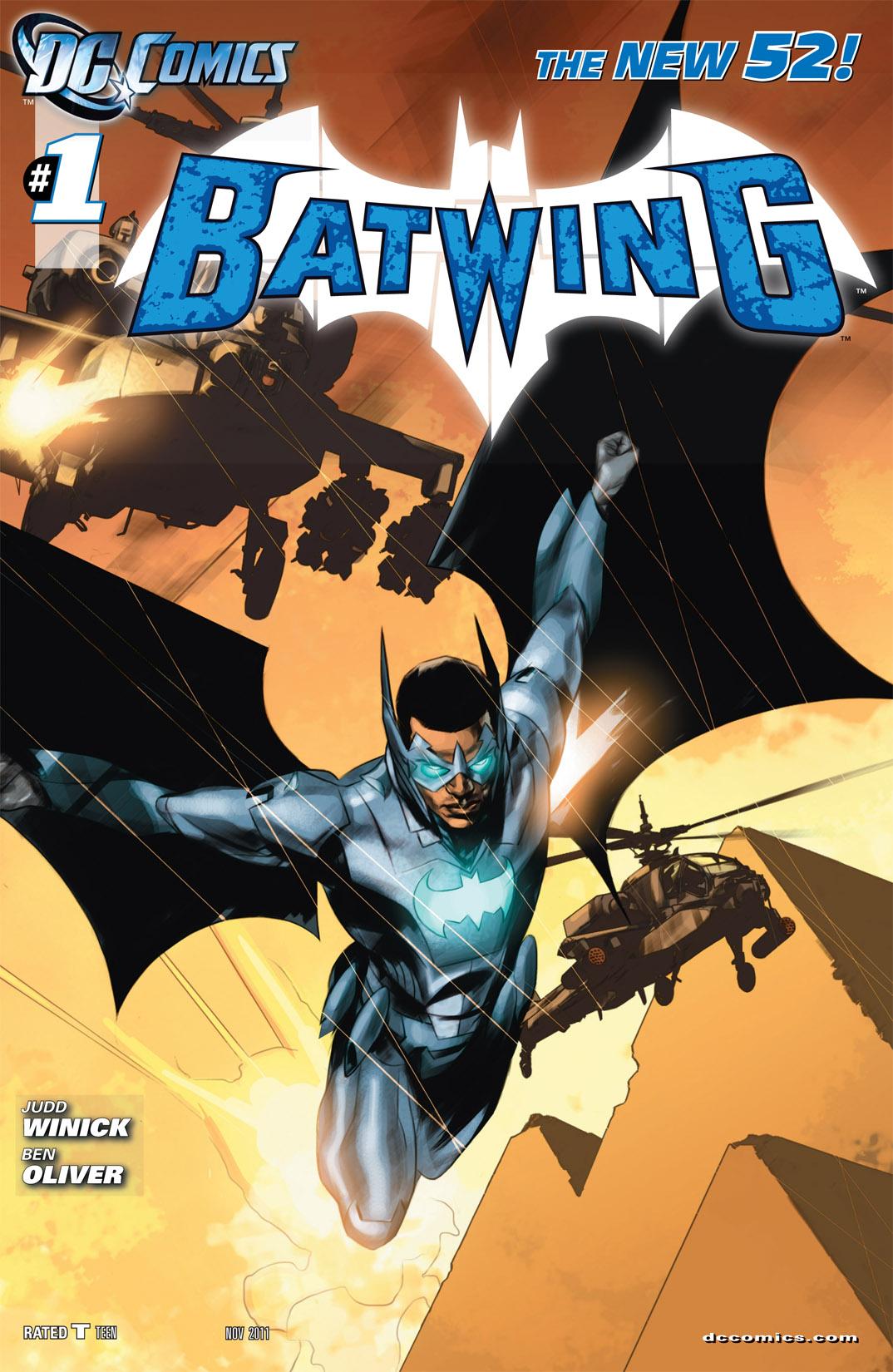 Couverture Batwing #1