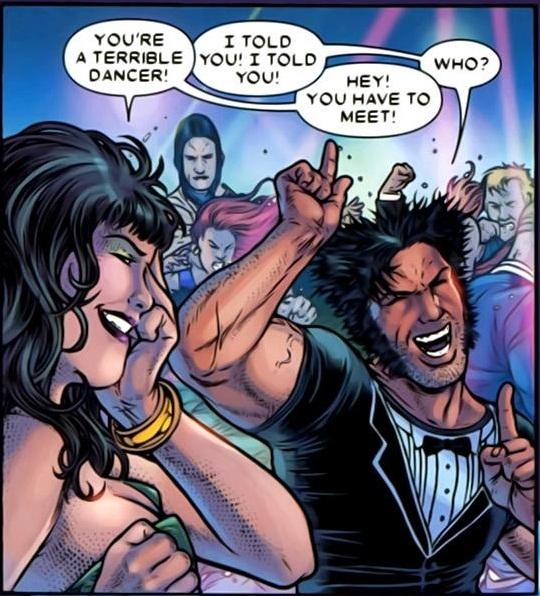 Wolverine – Contagion – Danse