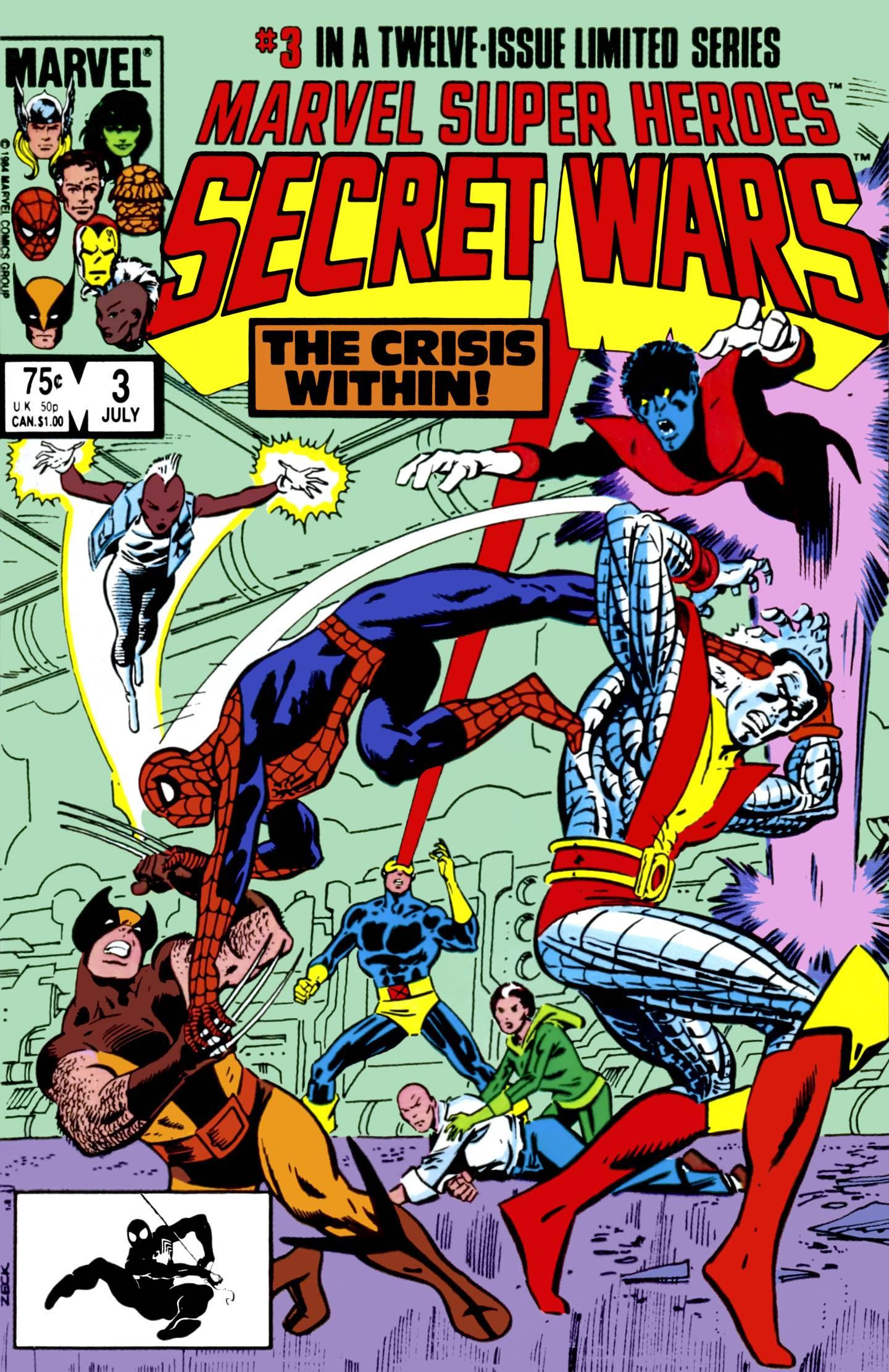 Secret Wars 3 cover
