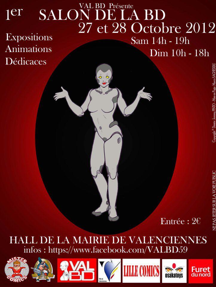1er Salon de la BD de Valenciennes
