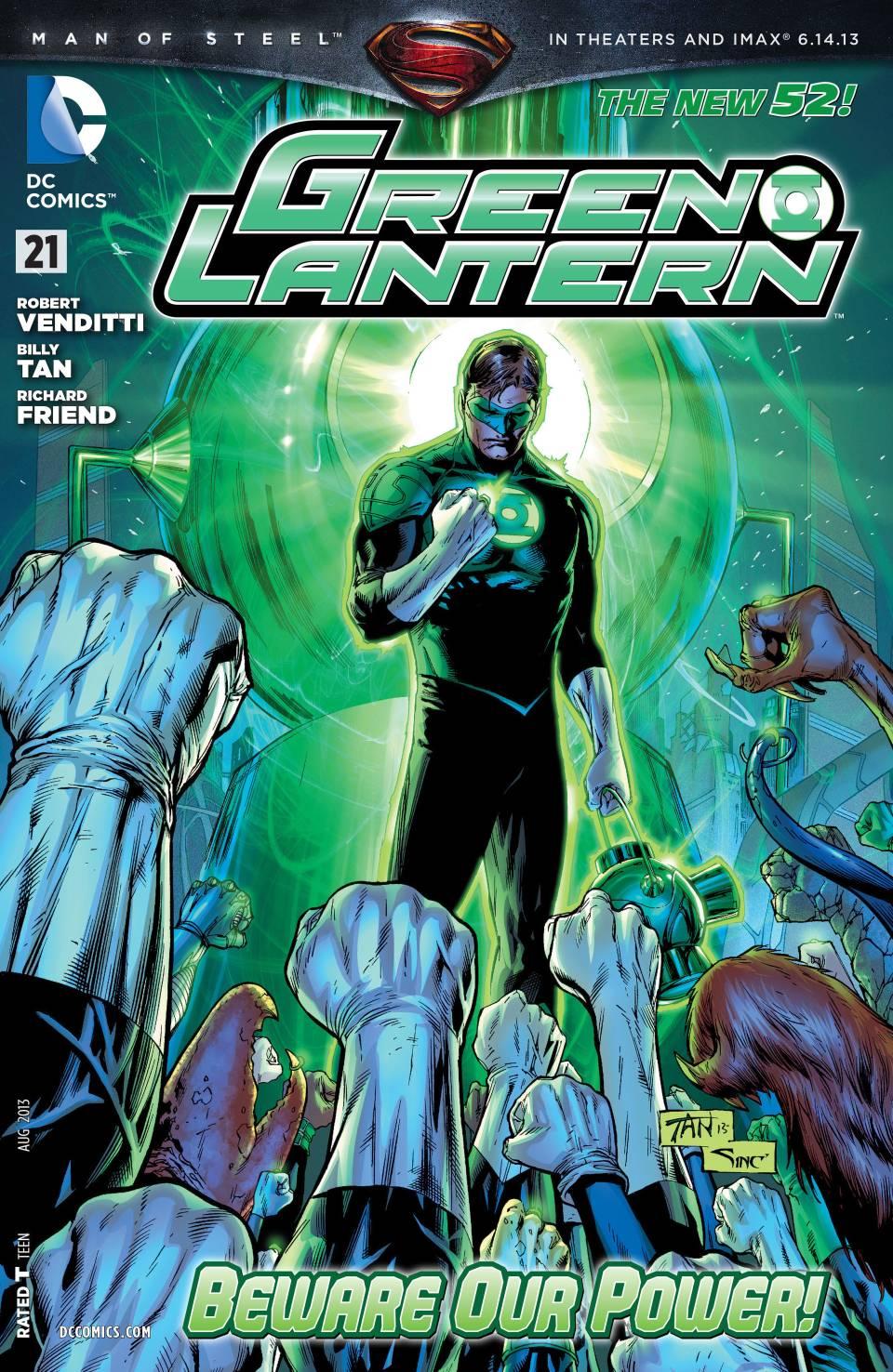 Green Lantern 21