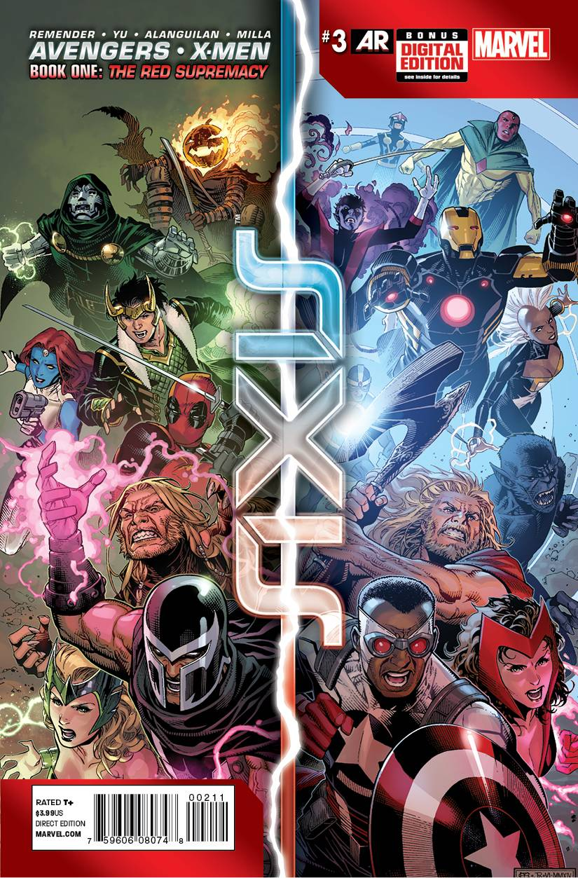 AVENGERS AND X-MEN AXIS #3