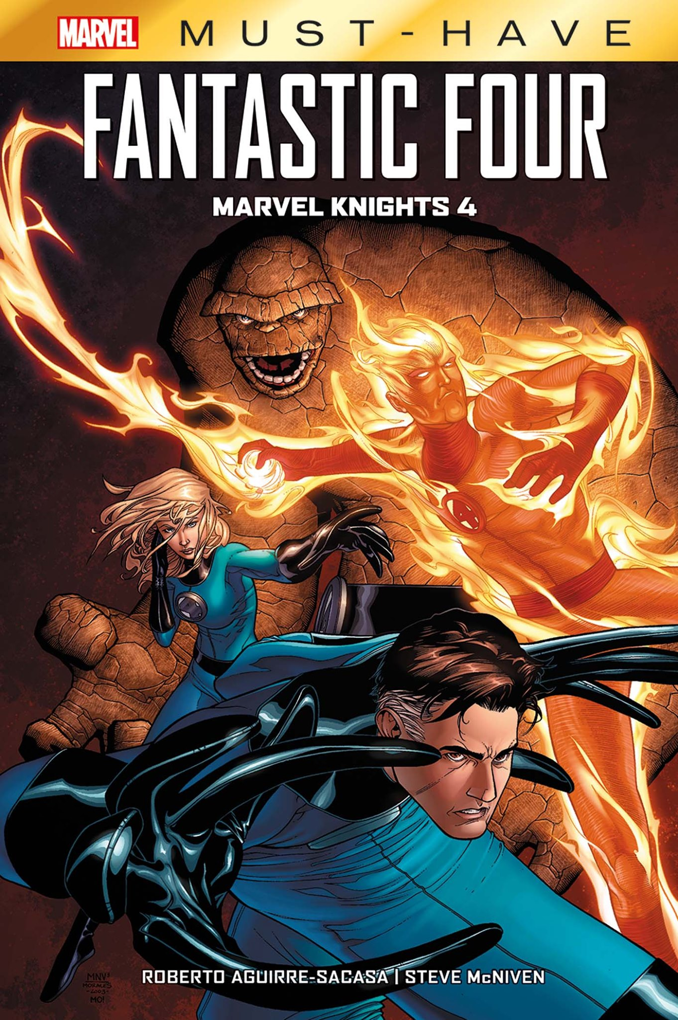 FANTASTIC FOUR MARVEL KNIGHTS 4 (MUST-HAVE)